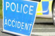 Car flipped onto roof in M65 accident